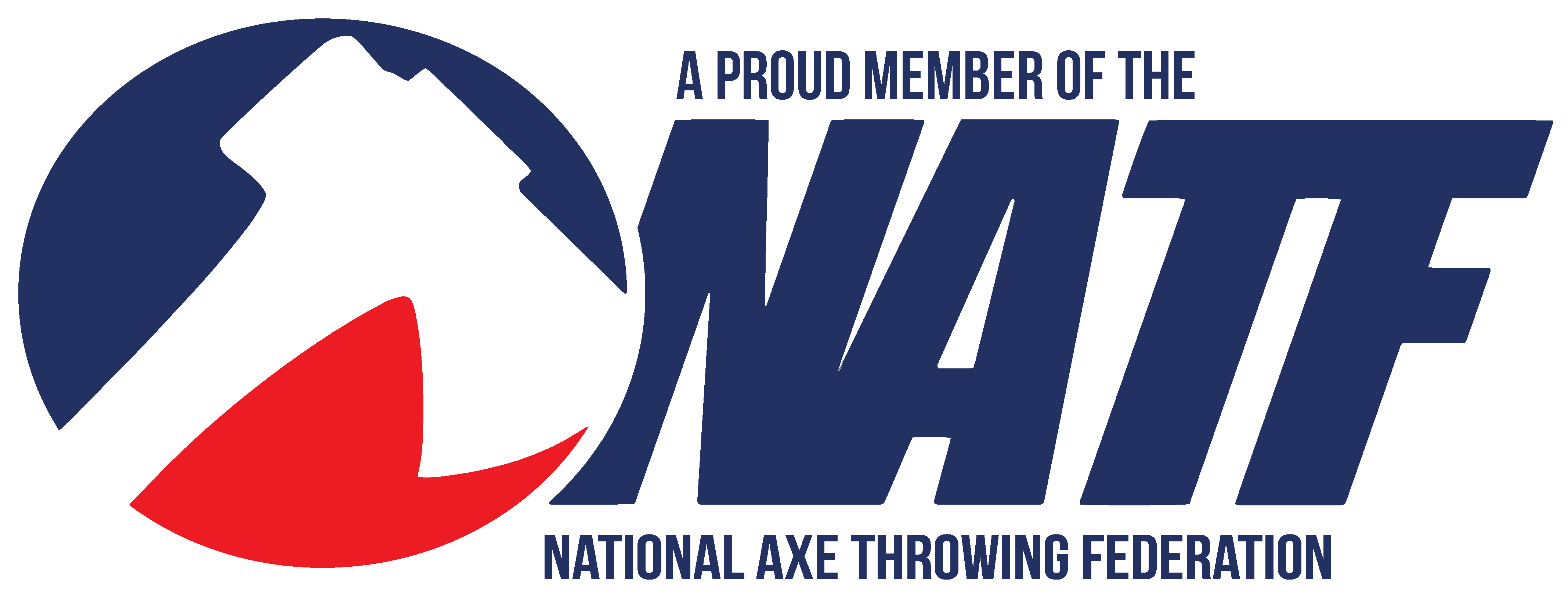A Proud Member of the National Axe Throwing Federation